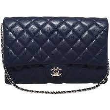 282 best Handbags images on Pinterest | Beautiful, Hairstyles and ... & Pre-owned Chanel NWOT Navy Blue Classic Caviar Clutch with Chain Strap  (€3.610. Quilted HandbagsClutch ... Adamdwight.com