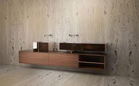 double washbasin cabinet wall hung walnut wood veneer bora bora tcc whitestone cabinets bora wall mounted