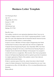 Free Formal Letter Template Free Business Letter Template In Word Doc Pdf Format