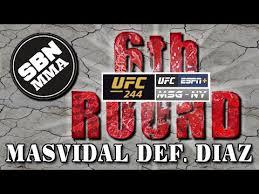 Reebok Payouts For Ufc 244 Nate Diaz And Jorge Masvidal