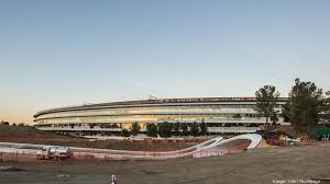 Cupertino apple office Spaceship Apple Park The Tech Giants 28 Millionsquarefoot Megacampus Is Wrapping The Business Journals Apple Inc Staffers Reportedly Rebelling Against Open Office Plan At