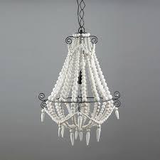 small boho white beaded chandelier lighting australia afterpay