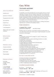 Accounts Assistant CV ...