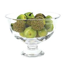 glass fruit bowl fruit fruit bowl basket set of 2 large glass fruit bowl with lid