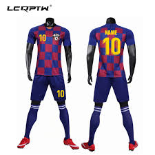 How To Design Football Jersey Us 15 9 20 Off Design Football Kit Adult Kids Soccer Jersey Football Training Sets Blank Version Custom Name Number Logo Jersey Shorts Socks In