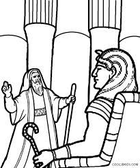 Baby Moses Coloring Page Printable Pages For Kids And Pharaoh