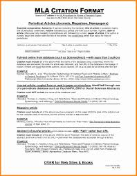Mla Format Essay Example Luxury Essay Reference Page Mla