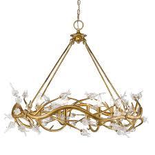 aiyana 41 8 light chandelier in gold leaf comparison history