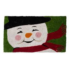 Tag Vintage Snowman 18 in. x 30 in. Coir Door Mat-TAG207314 - The ...