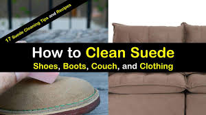 how to clean suede titleimg1
