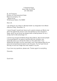 good letter of resignation example of letters resignation 8 18 photos template letter in word