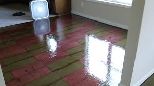 Colored Paper Flooring
