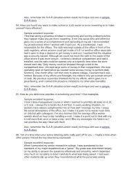 Brief Description Of Yourself Example Resume