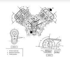 what is the timing chain setting on a 4 6l v8 northstar from