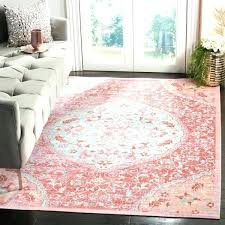 rose pink rug cotton x dusty bathroom rugs