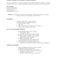 student resume no experience resumes for teenager with no work experience elegant sample college