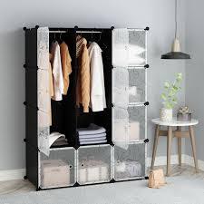 tespo portable clothes closet