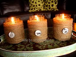 Decorating Candle Jars Jar Candle Decorating Ideas 5