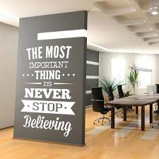 inspirational office design. Inspirational Office Decor Amazing Motivational Quote Design Quotes Decals