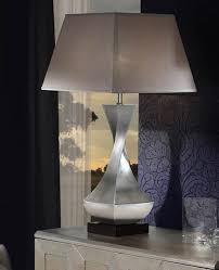 Deco Large Table Lamp - silver/silver