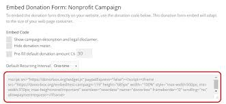 Actor Release Form Mesmerizing Get Started With Donorbox Donation Forms Step By Step Guide