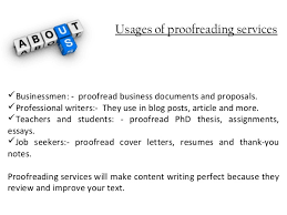 thesis proofreading 3 usages of proofreading services