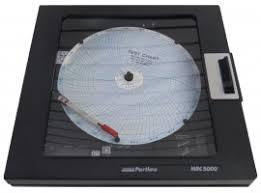 Partlow Mrc 5000 Circular Chart Recorder Partlow Mrc 5000 Circular Chart Recorder 2 Pen Recorder Only One Relay 90 264 Vac Standard Nema 3
