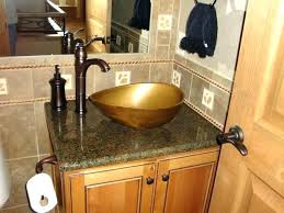 bowl sink vanity. Bathroom Vanity With Bowl Sink Unique Bath Vanities Lighting In Traditional And Bronze Faucet On Small