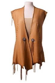style ae0125 one of a kind deer skin vest