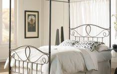 Princess Full Size Canopy Bed White ~ Ananthaheritage