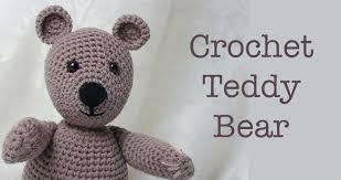 Crochet Teddy Bear Pattern Custom Free Crochet Teddy Bear Pattern Lucy Kate Crochet