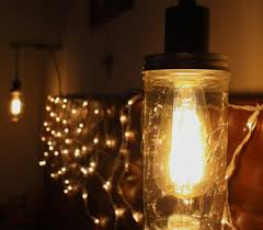 diy home lighting. DIY Home + Garden Mason Jar Hanging Light Fixture Diy Lighting