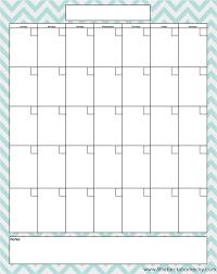 Printable Blank Monthly Calendar Blank Monthly Calendar Printable Pdfs
