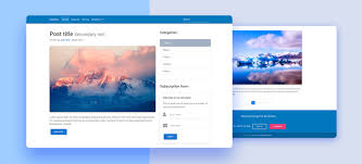 4 to a page template free bootstrap 4 templates stunning responsive material design
