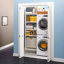 stackable washing machine. Create A Closet Laundry Stackable Washing Machine And Dryer