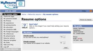 Top 5 Free Resume Hosting Websites myresumeonline options