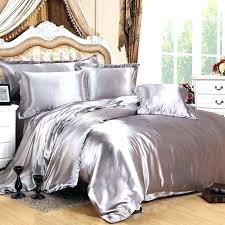 silver bedding sets queen silver bed sheets satin bed sheets queen satin full silk sheets queen