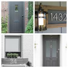 grey front doorDoor Dilemmas  tidylife