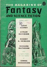 the magazine of fantasy science fiction vol v british edition february zenna henderson richard matheson avram davidson isaac asimov robert a