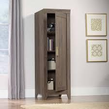 Sauder Kitchen Furniture Sauder Adept Storage Narrow Storage Cabinet Multiple Colors