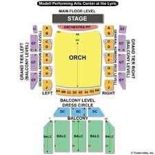 Modell Pac At The Lyric Seating Chart Modell Lyric Seating Chart Related Keywords Suggestions