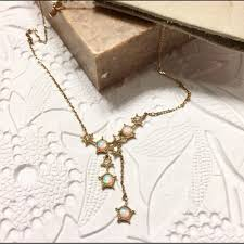 Iso Star Chart Layering Opal Necklace