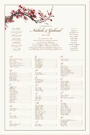 seating chart for wedding reception seating chart template