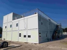 Flatpack House Flat Pack Container House With Fiber Cement Flooring Flat Pack