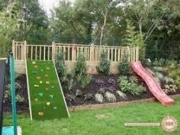 Homemade playground