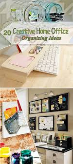 organizing ideas for home office. Creative Home Office Organizing Ideas! Ideas For F
