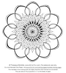 New 15 Amazingly Relaxing Free Printable Mandala Coloring Pages For
