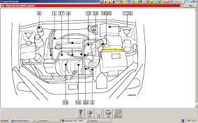 focus speedo i have changed the speed sensor at the coil pack obd diagram showing location of maf sensor graphic