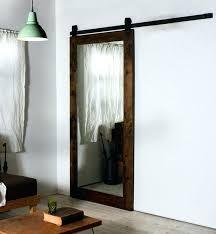 mirrored barn door closet doors vanity mirror faux frosted glass style barn door living room mirrored