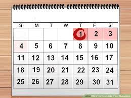 Example Of Ovulation Calendar Lamasa Jasonkellyphoto Co